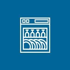Geschirrspüler Icon